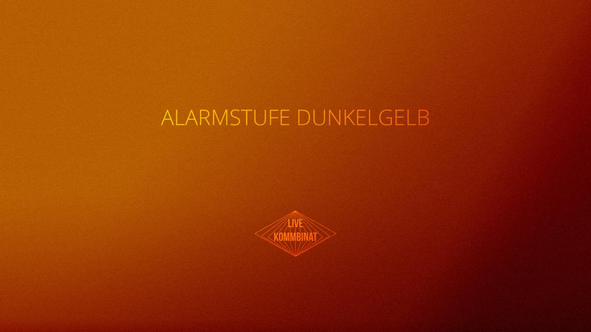 Alarmstufe Dunkelgelb