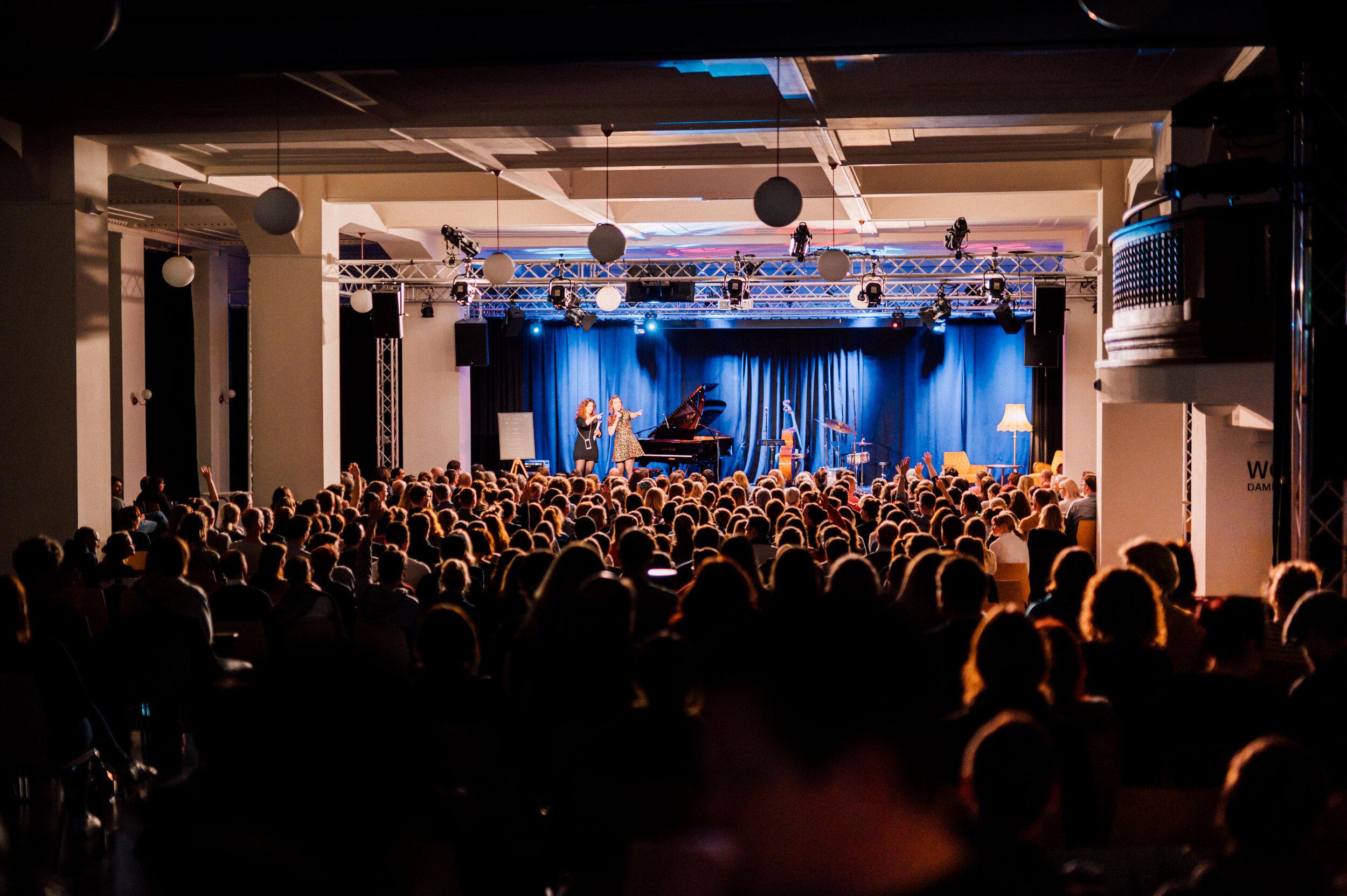 Kupfersaal während einer Veranstaltung